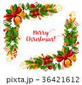 クリスマス xマス ベクトルのイラスト 36421612