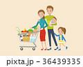 ショッピング 買い物 食料品のイラスト 36439335