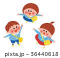園児 幼稚園児 子供のイラスト 36440618