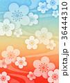 梅 春 花のイラスト 36444310