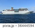 海 クルーズ 入港の写真 36444594