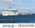 クルーズ 大阪港 入港の写真 36444598