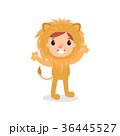 コスチューム 服装 ライオンのイラスト 36445527