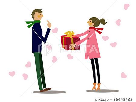 ギフト。バレンタイン。プレゼント。女性から男性へ。 36448432