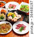 焼肉 韓国料理 集合 36468197