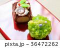 上生菓子・ノエルとクリスマスツリー 36472262