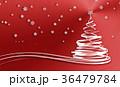 赤 デコレーション 装飾のイラスト 36479784