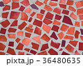 The texture of mosaic wall decorative ornament 36480635