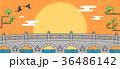 バックグラウンド 背景 朝鮮のイラスト 36486142