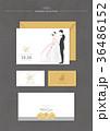 カップル お花 フラワーのイラスト 36486152