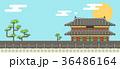 バックグラウンド 背景 朝鮮のイラスト 36486164