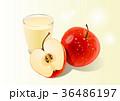 リンゴ 食 料理のイラスト 36486197
