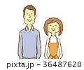 若い 夫婦 20代のイラスト 36487620