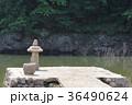 室生湖の濡れ地蔵 36490624