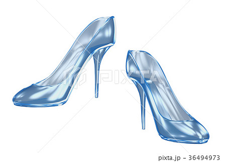 ガラスの靴のイラスト素材 36494973 Pixta
