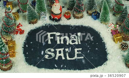 Stop motion animation of Final Sale 36520907