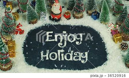 Stop motion animation of Enjoy Holiday 36520916