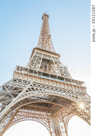 Base of Eiffel Tower France 36521087