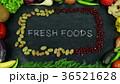 Fresh foods fruit stop motion 36521628