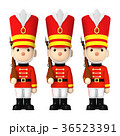 おもちゃの兵隊 おもちゃ 近衛兵のイラスト 36523391