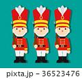 おもちゃの兵隊 おもちゃ 近衛兵のイラスト 36523476