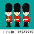 おもちゃの兵隊 おもちゃ 近衛兵のイラスト 36523545