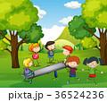 子供 子 パークのイラスト 36524236