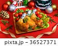 チキン 鶏肉 クリスマスの写真 36527371