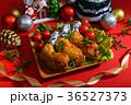 チキン 鶏肉 クリスマスの写真 36527373