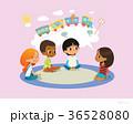 少女 子供 児童のイラスト 36528080