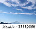 富士山 青空 雲の写真 36530669