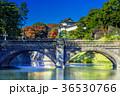 皇居外苑の二重橋(正門石橋) 36530766