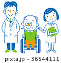 介護 医者 看護士のイラスト 36544111