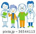 介護 医者 看護士のイラスト 36544113