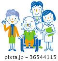介護 医者 看護士のイラスト 36544115