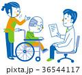 介護 通院介助 病院のイラスト 36544117