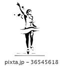 マラソンランナー 36545618