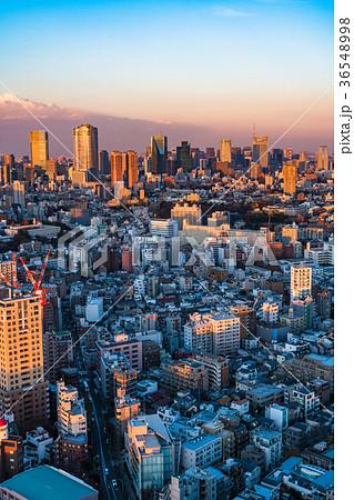 夕暮れ・東京都市風景 36548998