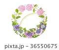 花の輪・6月・あじさい 36550675