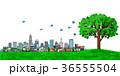 街並み 街 エコロジー 樹木 カラー 36555504