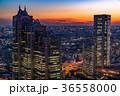 都市風景 都会 高層ビルの写真 36558000