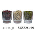 Green beans, red beans and millet in glass 36559149