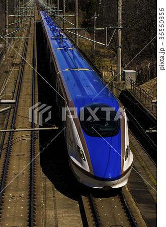 新幹線E7系(天井が汚れていません) 36560356