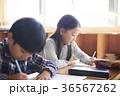 小学生 勉強 子供の写真 36567262