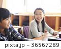 小学生 勉強 子供の写真 36567289