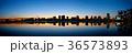 レインボーブリッジ 海 夕景の写真 36573893