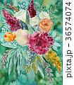 水彩 手描き ボタニカルのイラスト 36574074