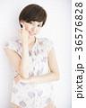女性 笑顔 20代の写真 36576828