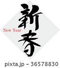 新春 New Yearのイラスト 36578830