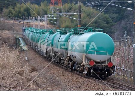 冬の中央西線タンク貨物列車 36581772